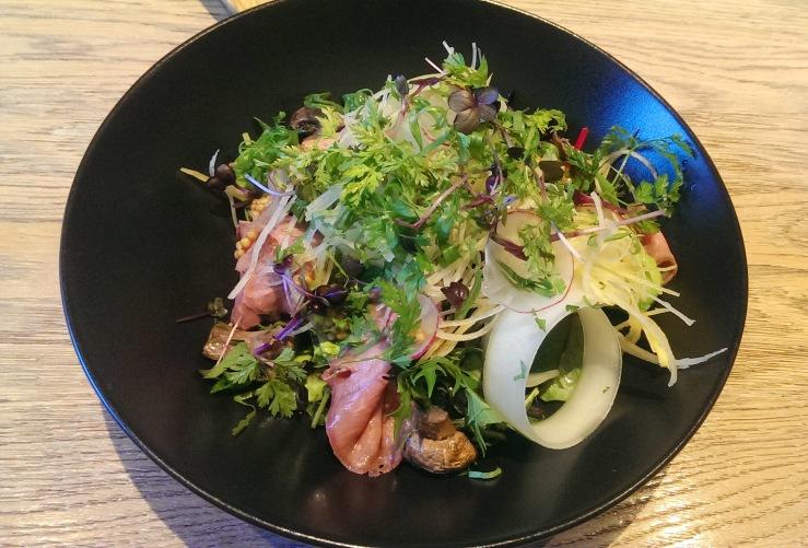 Салат с говядиной. Beef salad.