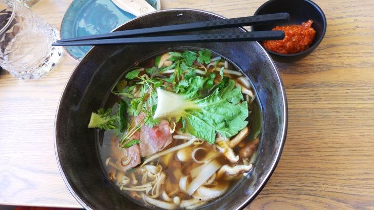 Вьетнамский суп фо. Pho.