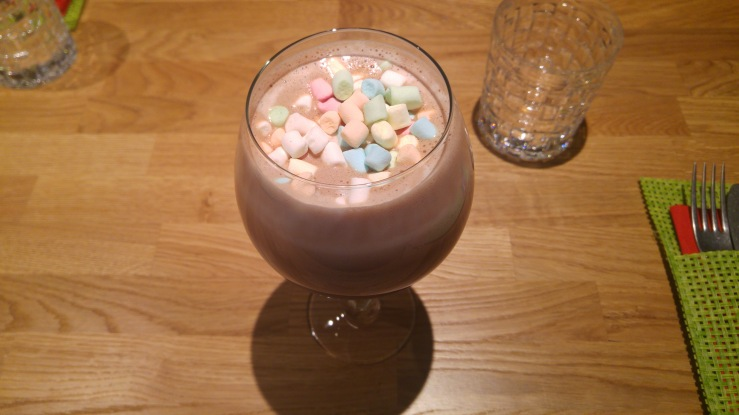 Вишневое какао с Marshmallow. Cherry Marshmallow Hot Cocoa.