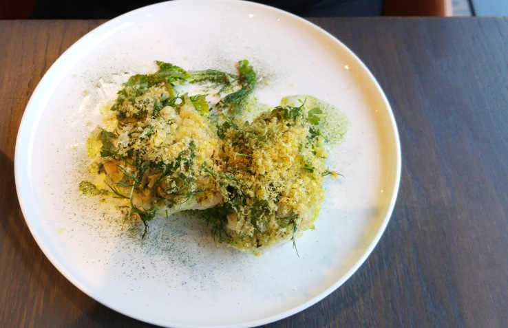 Римский гриль-салат. Grilled Romaine salad.