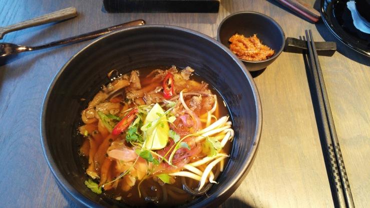 Умами-суп из бычьего хвоста. Umami oxtail soup.