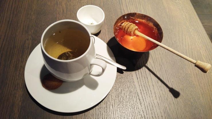 Green jasmine tea.